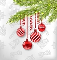 Christmas Celebration Background vector image