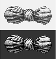 Dot Work Bow vector image