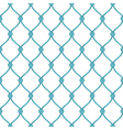 Abstract architectural detail for forged fence vector image