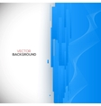 Blue 3D Background vector image