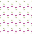 Flower isolated background in paper flat style vector image