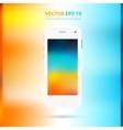 Modern touchscreen cellphone icon vector image vector image