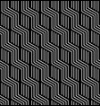 seamless zigzag lines pattern vector image vector image