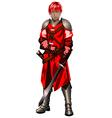 warrior10 vector image
