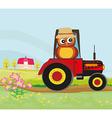 Owl Farmer vector image