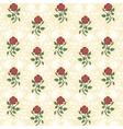 floral textile design vector image vector image