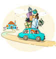 Moving in a new home vector image