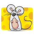 Cute mouse vector image vector image