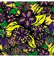 Boho Style Hand Drawn Seamless Pattern vector image