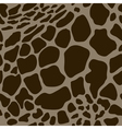 seamless pattern with giraffe skins vector image