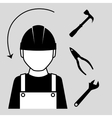 Construction and tools vector image
