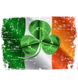 Day Three Leafed Clover vector image vector image
