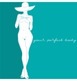 your perfect body vector image vector image