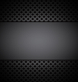 gray grill texture background vector image