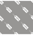 Price tag seamless pattern vector image