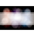 abstract layout bokeh dark background - vector image