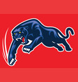 Panther attack vector image