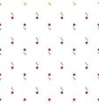 Paper Trendy Flat Flower Pattern EPS8 vector image