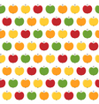 apple seamless vector image vector image