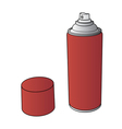 Spray Paint Can vector image