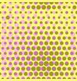 abstract dotted halftone background colored vector image