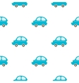 Car toy cartoon icon for web and vector image