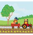 Owl Farmers vector image