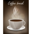 Coffe background vector image