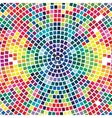 colorful mosaic background abstract modern design vector image