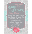 Baby-Shower CountryChic vector image