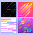 abstract trendy motion backgrounds with vector image