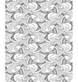 decorative fish seamless pattern vector image