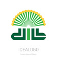 Dill - original lettering logo organic logotype or vector image