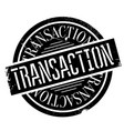 transaction rubber stamp vector image