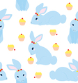 Cute Rabbit Pattern vector image vector image