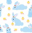 Cute Rabbit Pattern vector image