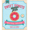 donut color vector image