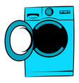 washing machine icon icon cartoon vector image