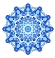 Triangular Ornamental Round Lace vector image vector image
