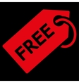 Free Tag icon from Business Bicolor Set vector image