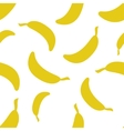 Pattern Silhouette Bananas vector image