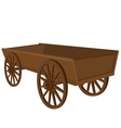 Cart vector image