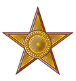 star - medal vector image