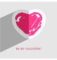 heart card5 vector image vector image