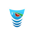 Water logo vector image