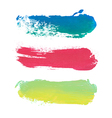 paint stripes with place for text vector image vector image