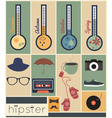 hipster seazons vector image