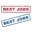 Best Jobs Rubber Stamps vector image vector image