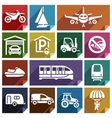 Transport flat icon-08 vector image