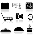 A set of icons vector image